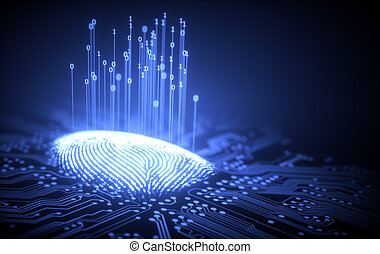 Fingerprint Binary Microchip