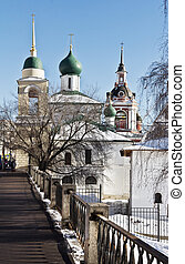Church in Varvarka Street, Moscow, Russia - Maxim Cathedral...