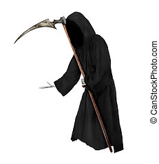 Grim Reaper - Isolated Grim Reaper. Halloween theme
