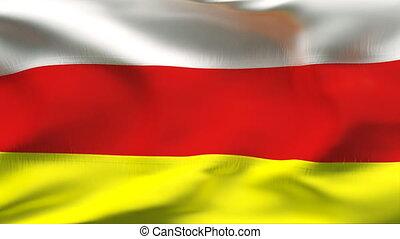 Textured OSETIA cotton flag - Textured OSETIA cotton flag...