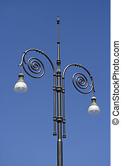 Street Lights - Ornate street lights in Europe