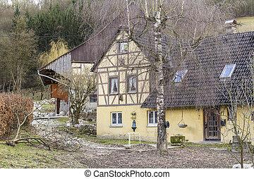 rural farm house