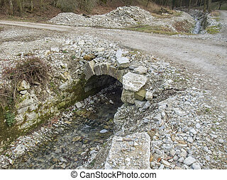 small stone bridge