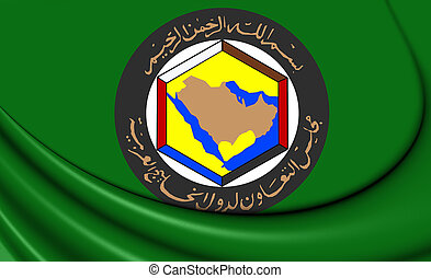 Cooperation Council for the Arab States of the Gulf Flag.