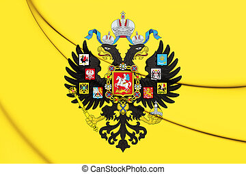Emperor of Russia Imperial Standard (1858-1917).