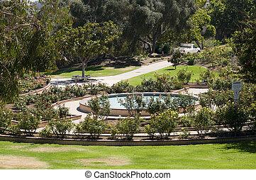 Rose Garden in San Diego