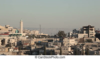 Houses in East Jerusalem - Shot of Houses in East Jerusalem