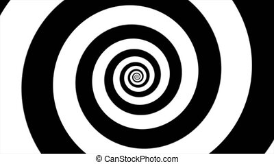 hypnotic spiral loop - Shot of hypnotic spiral loop