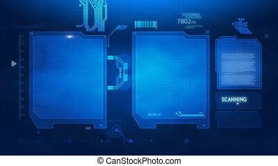 sc, sicurezza, schermo, impronta digitale