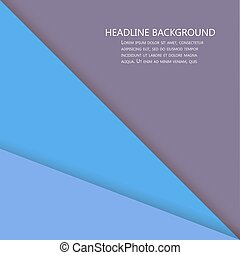 Colorful Square blank background - Vector Design Concept -...
