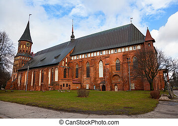 Koenigsberg Cathedral - Gothic temple of the 14th century....