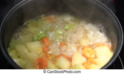 Cooking in casserole