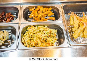 Japanese food ,vegetable tempura . - Japanese food...
