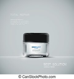 Cosmetics package design. - Innovative cosmetic product ads....