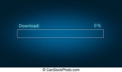 Download progress bar with counter