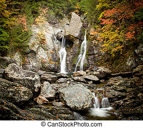 Bash Bish falls in Berkshires - Bish Bash Falls in...