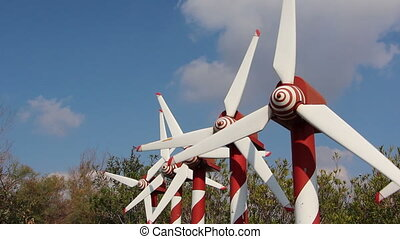 Green energy turbines