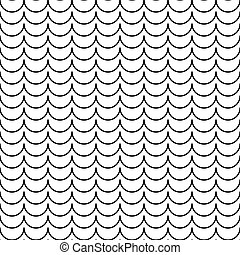 Abstract pattern with waves. Vector Illustration.