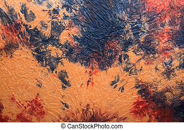 art background of embossed paper