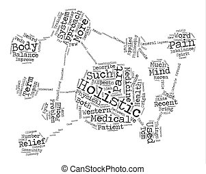 A Glimpse Into The Holistic Approach To Medicine Word Cloud...