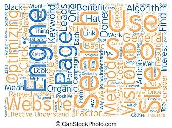 concetto, parola, testo, Guida, benefici, fondo, seo,...