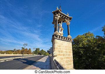 Valencia puente del Real royal bridge Spain - Valencia...