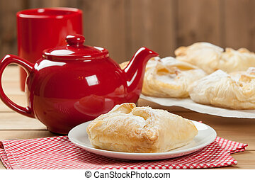 Homebaked Hungarian Cheese Puff Pastry Parcels. - Homebaked...