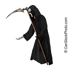 Grim Reaper - Isolated Grim Reaper Halloween theme