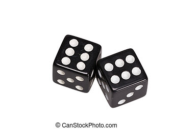 Two dice showing two sixes