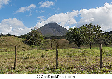 The active volcano Arenal in Costa Rica