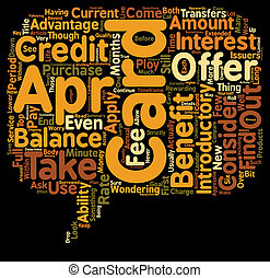 Apr Credit Cards You Can Find text background wordcloud...