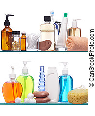 personal hygiene products - various personal hygiene...