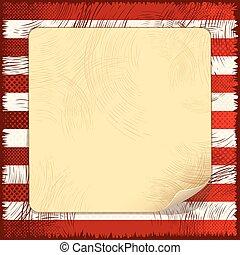 Background Grunge USA Flag