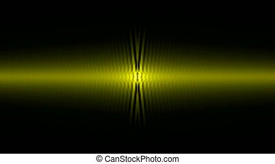 golden light ray wave,music rhythm