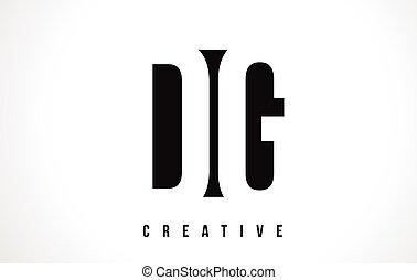 DG D G White Letter Logo Design with Black Square. - DG D G...