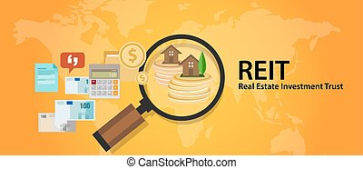 REIT Real Estate Investment Trust money for home finance transaction