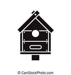 Bird Nesting Box Icon