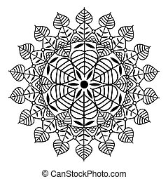 Vector - vector ornamental mandala