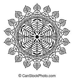 Vector - vector ornamental mandala