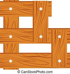 wooden alphabet B letter icon isolated on white background