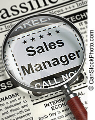 We're Hiring Sales Manager. 3D. - Sales Manager - Classified...