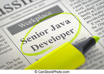 We're Hiring Senior Java Developer. 3d. - Senior Java...