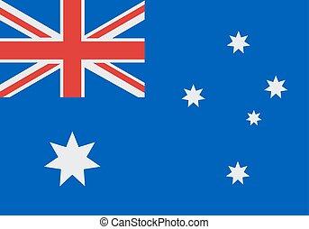 Flag of australia - National Flag of Australia vector...