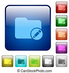 Rename directory color square buttons - Rename directory...