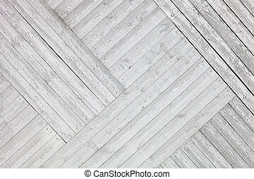 White rustic wooden planks background - Rustic White painted...