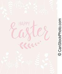 Easter holiday background - Happy Easter holiday background...