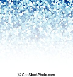 Abstract blue glow vector background.