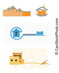 Simple illustrations of the buildin