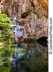 Blagaj dervish house - Bosnia and Herzegovina - architecture...