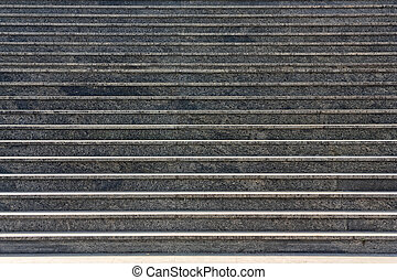Rungs - Granite rungs on a background